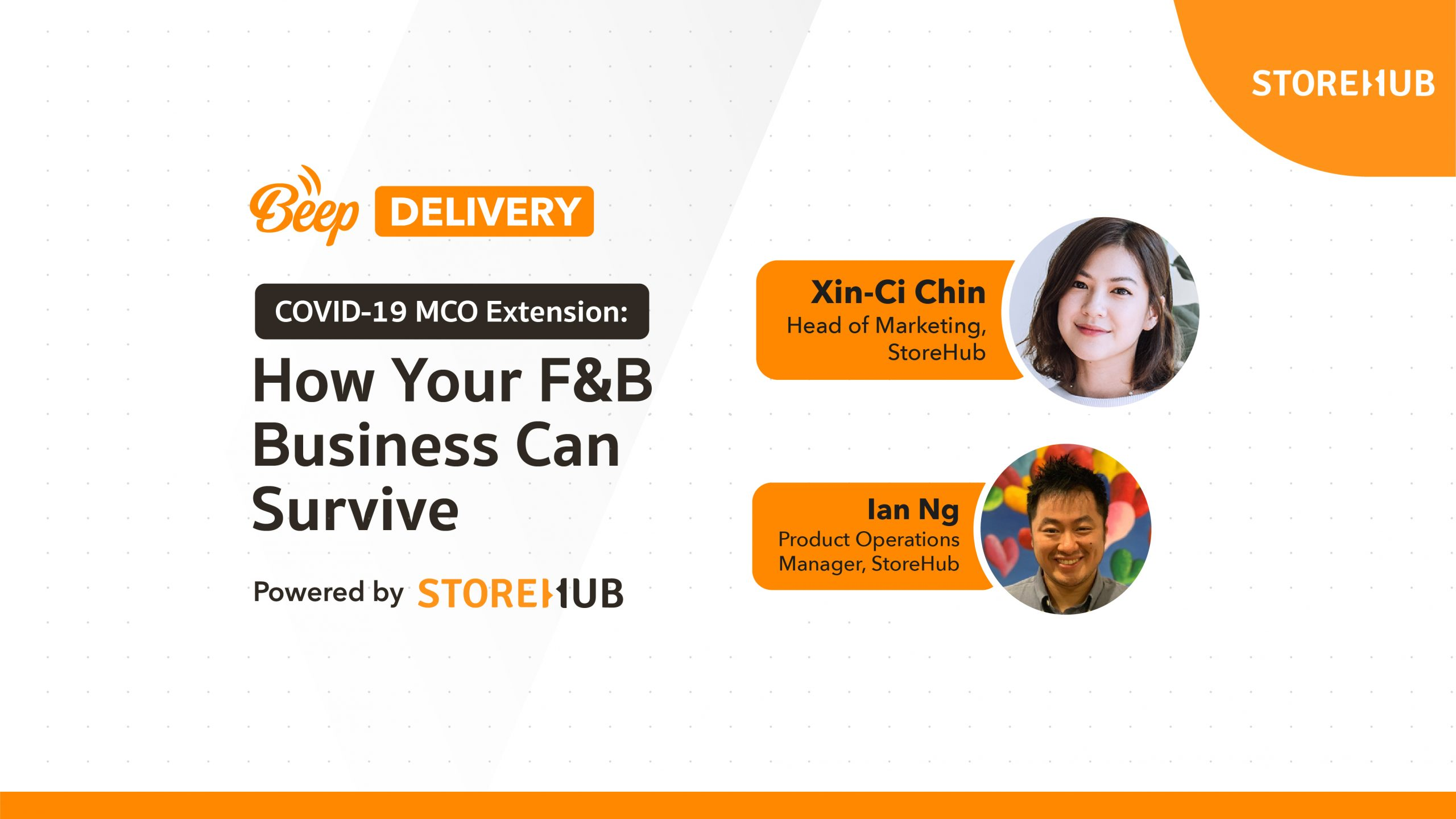 webinar video COVID-19 extended MCO Movement Control Order how F&B business can survive Beep Delivery StoreHub thumbnail