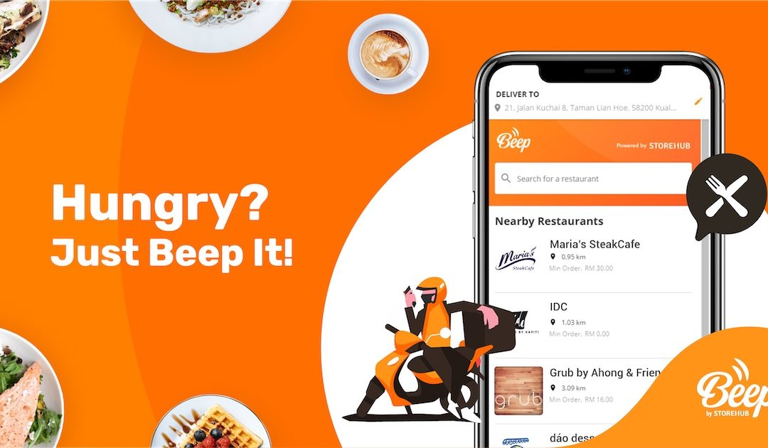 StoreHub Introduces Beep: A Food Delivery App That Supports Small F&B Businesses
